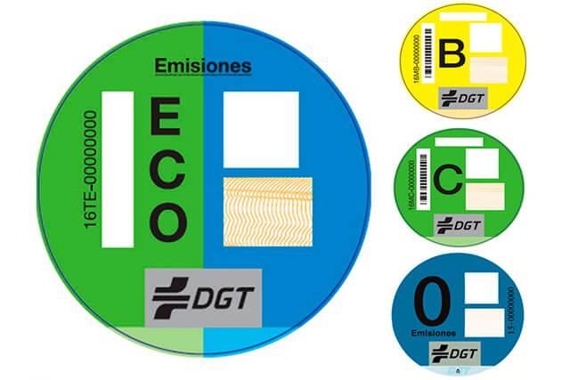 Distintivo ambiental - desguacesn430.com