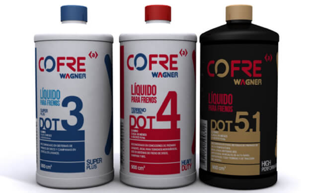 Desguacesn430 Tipos de líquidos de frenos