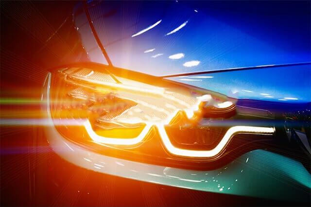 Iluminación del vehículo sistema de seguridad activa desguacesn430