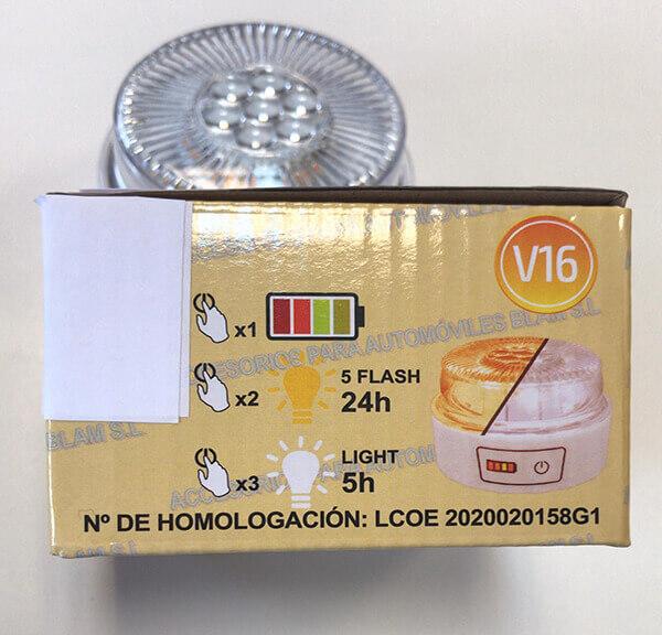 LUZ DE EMERGENCIA HOMOLOGADA DESGUACES N430