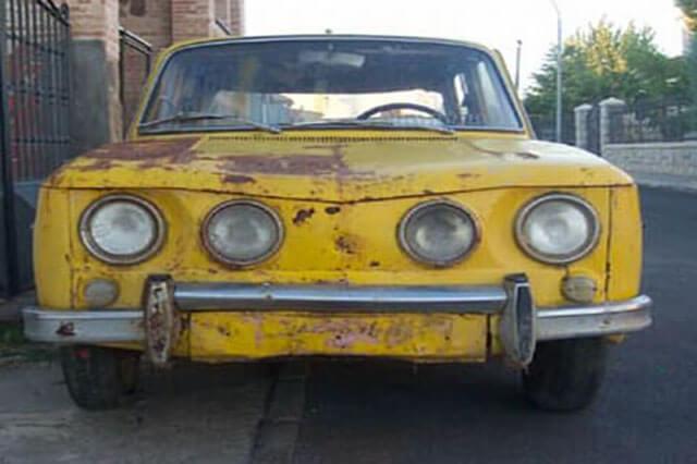 Rehabilitación de vehículo histórico DESGUACESN430